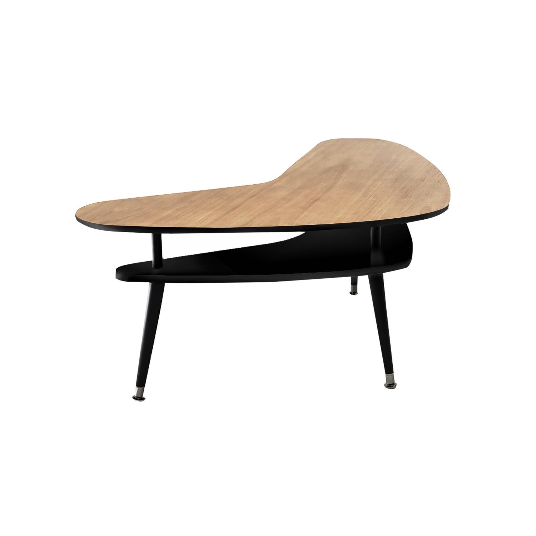 Журнальный столик БумерангЖурнальные столики<br>&amp;lt;div&amp;gt;Журнальный столик Бумеранг – классический кофейный столик в стиле 50-х годов. Двухуровневая столешница делает его более вместительным, нежели журнальные столики с одной столешницей, при этом журнальный столик Бумеранг остается достаточно компактным и легко размещается рядом с креслом или диваном. Журнальный столик Бумеранг покрыт высокопрочным лаковым покрытием, что делает его идеальным предметом мебели для ресторанов, кафе и баров, а также для любых других общественных пространств.&amp;amp;nbsp;&amp;lt;/div&amp;gt;&amp;lt;div&amp;gt;&amp;lt;br&amp;gt;&amp;lt;/div&amp;gt;&amp;lt;div&amp;gt;Ножки конической формы, выполненные из массива бука, окрашены в черный цвет, нижняя часть ножек украшена металлическими наконечниками стального цвета. Верхнюю столешницу, изготовленную из МДФ, сверху покрывает натуральный дубовый шпон обработанный темной морилкой, нижняя часть и боковой кант окрашены в цвета из палитры Woodi Furniture. Нижняя столешница, изготовленная из МДФ, полностью окрашена в цвета из палитры Woodi Furniture. Журнальный столик Бумеранг может использоваться по отдельности или в комбинации с другими журнальными столиками Woodi Furniture.&amp;lt;/div&amp;gt;<br><br>Material: МДФ<br>Ширина см: 90.0<br>Высота см: 57.0<br>Глубина см: 67.0