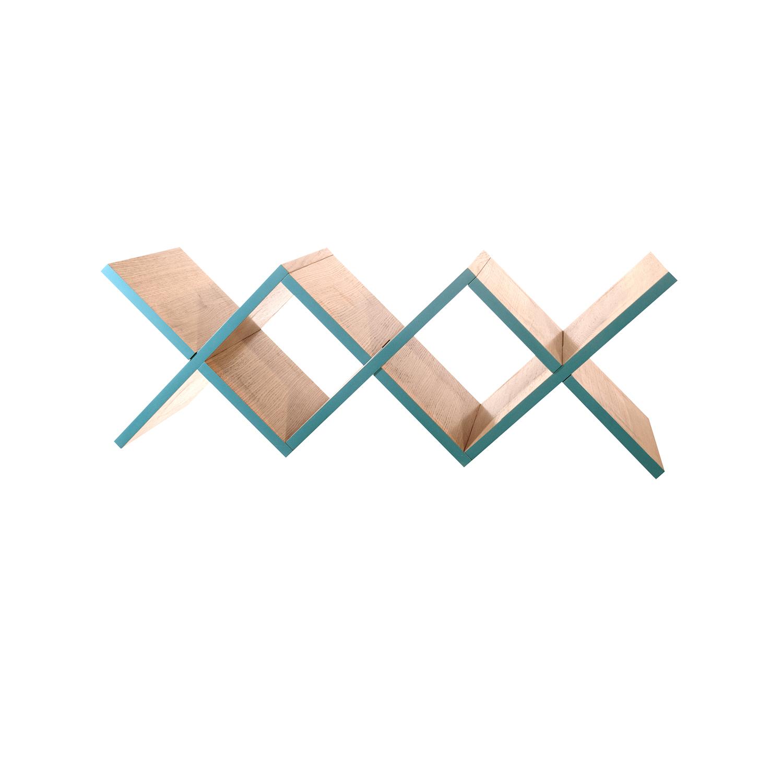 Полка для гостиной Woo ShelfПолки<br>&amp;lt;div style=&amp;quot;font-size: 14px;&amp;quot;&amp;gt;Необычная конструкция книжной полки Woo Shelf позволяет легко размещать ее как на стене, так и на горизонтальной поверхности. Книжная полка прекрасно подходит для хранения книг или других предметов.&amp;amp;nbsp;&amp;lt;/div&amp;gt;&amp;lt;div style=&amp;quot;font-size: 14px;&amp;quot;&amp;gt;&amp;lt;br&amp;gt;&amp;lt;/div&amp;gt;&amp;lt;div style=&amp;quot;font-size: 14px;&amp;quot;&amp;gt;Полка изготовлена из МДФ и покрыта натуральным дубовым шпоном, торцы полки окрашены в цвета из палитры Woodi Furniture. Woo Shelf представлена в двух размерах.&amp;amp;nbsp;&amp;lt;/div&amp;gt;&amp;lt;div style=&amp;quot;font-size: 14px;&amp;quot;&amp;gt;&amp;lt;br&amp;gt;&amp;lt;/div&amp;gt;<br><br>Material: МДФ<br>Ширина см: 120.0<br>Высота см: 30.0<br>Глубина см: 30.0