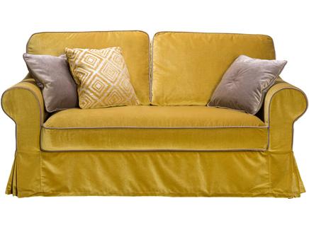 Диван прованс (modern classic) желтый 200x75x93 см.