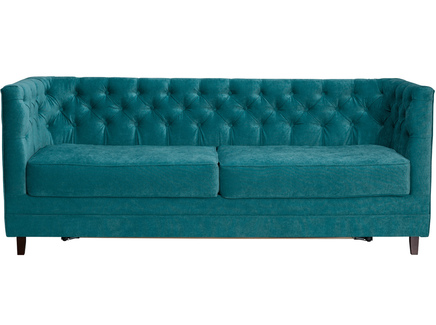 Диван раскладной мессино (modern classic) синий 203x80x70 см.