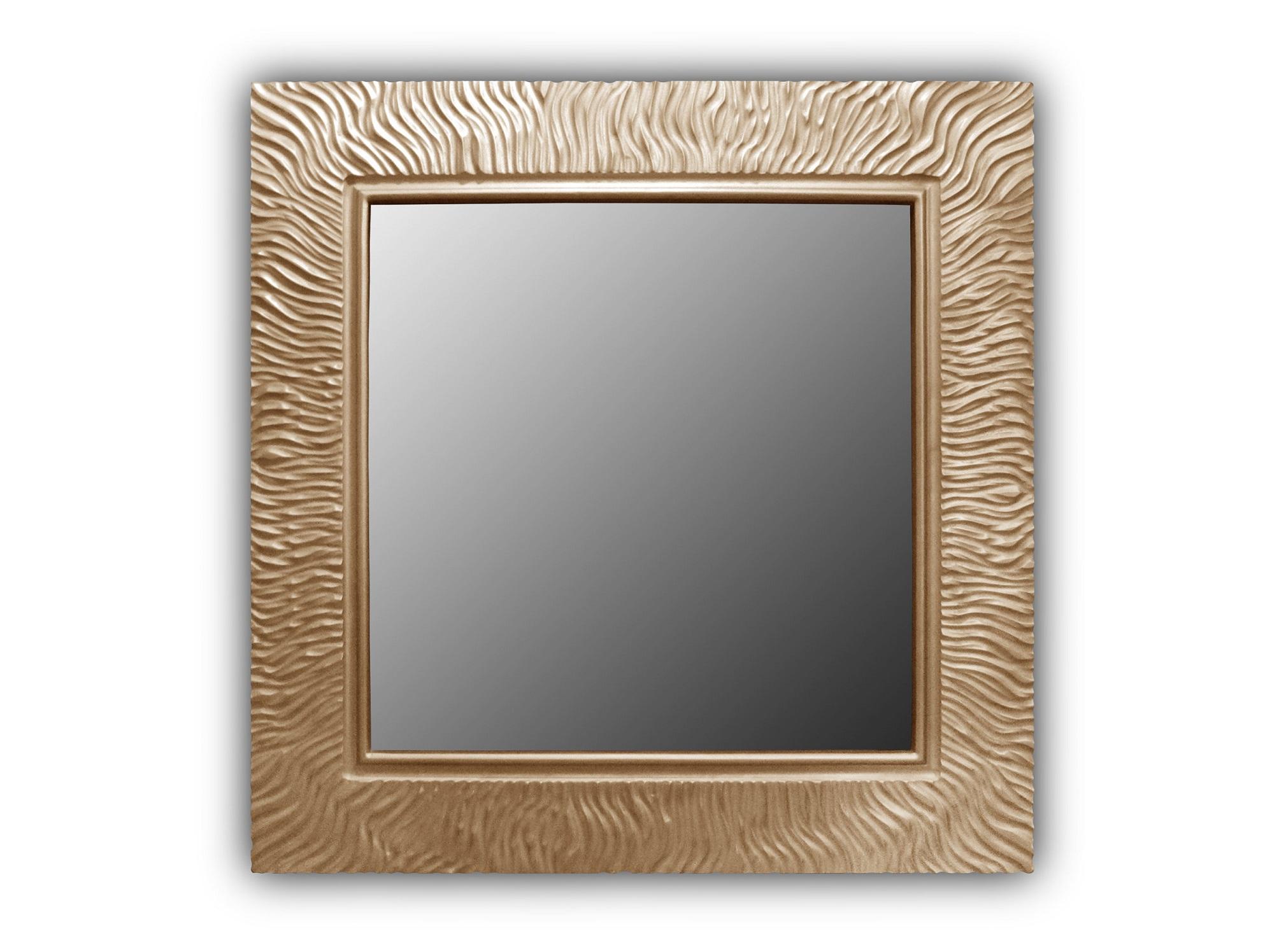 Зеркало Wave QuНастенные зеркала<br><br><br>Material: Дерево<br>Ширина см: 90.0<br>Высота см: 90.0<br>Глубина см: 3