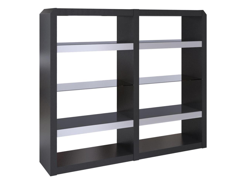 Стеллаж TechnoСтеллажи и этажерки<br>Составная витрина из двух частей. Цена указана за полный комплект.Удобная и функциональная витрина хорошо впишется в интерьер гостиной, столовой зоны или кабинета. Цвет венге. Мебель выполнена из натуральных и экологически чистых материалов с использованием натурального шпона дуба.&amp;amp;nbsp;&amp;lt;div&amp;gt;&amp;lt;br&amp;gt;&amp;lt;/div&amp;gt;<br><br>Material: МДФ<br>Ширина см: 180<br>Высота см: 203<br>Глубина см: 45