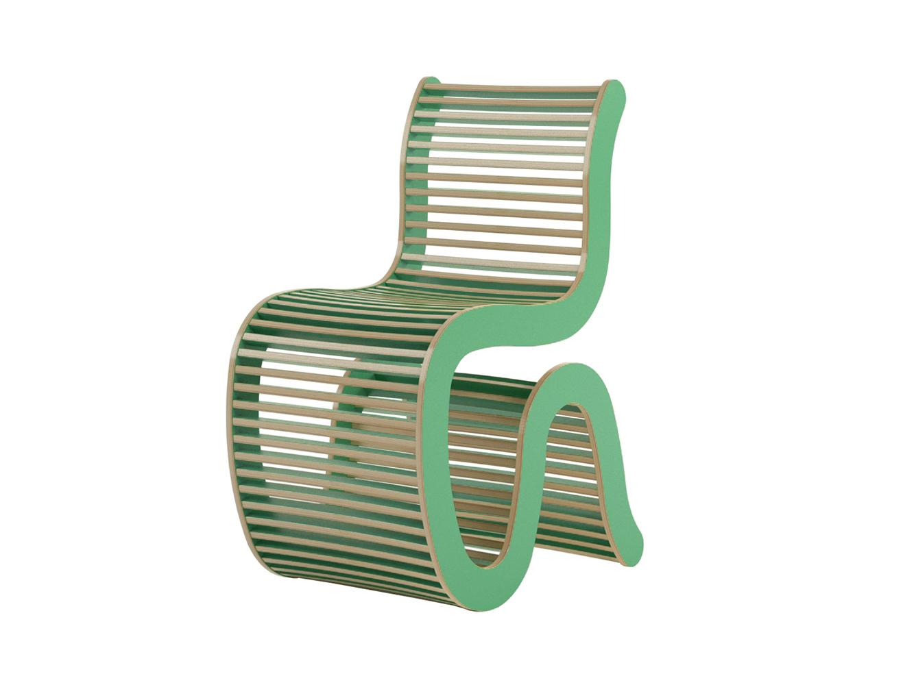 Стул linea (studiola) зеленый 43x88x65 см.
