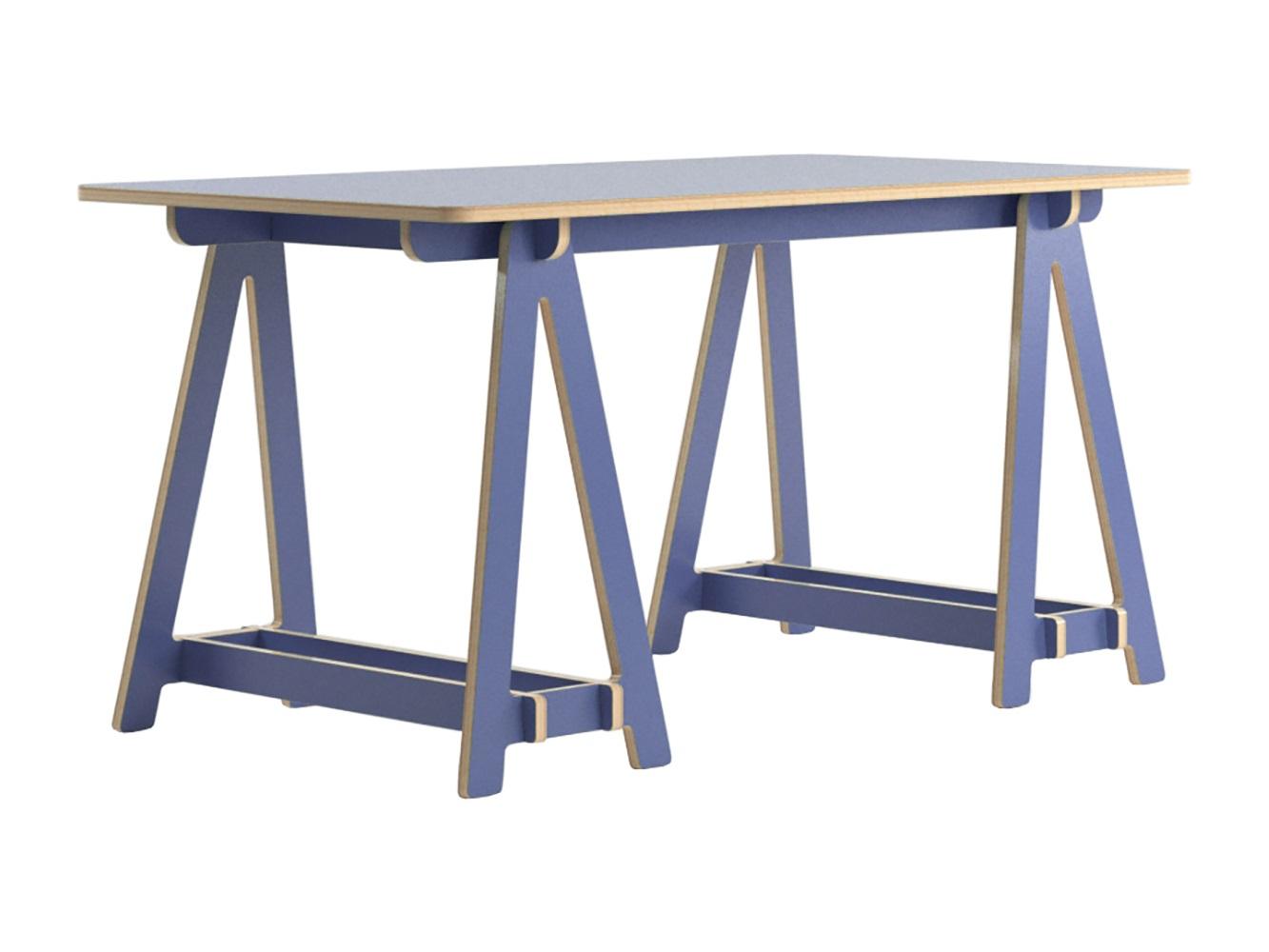 Стол subirats (studiola) синий 149x75x78 см.