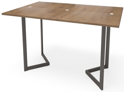 Стол-консоль арлен (millwood) коричневый 120x76x38 см.
