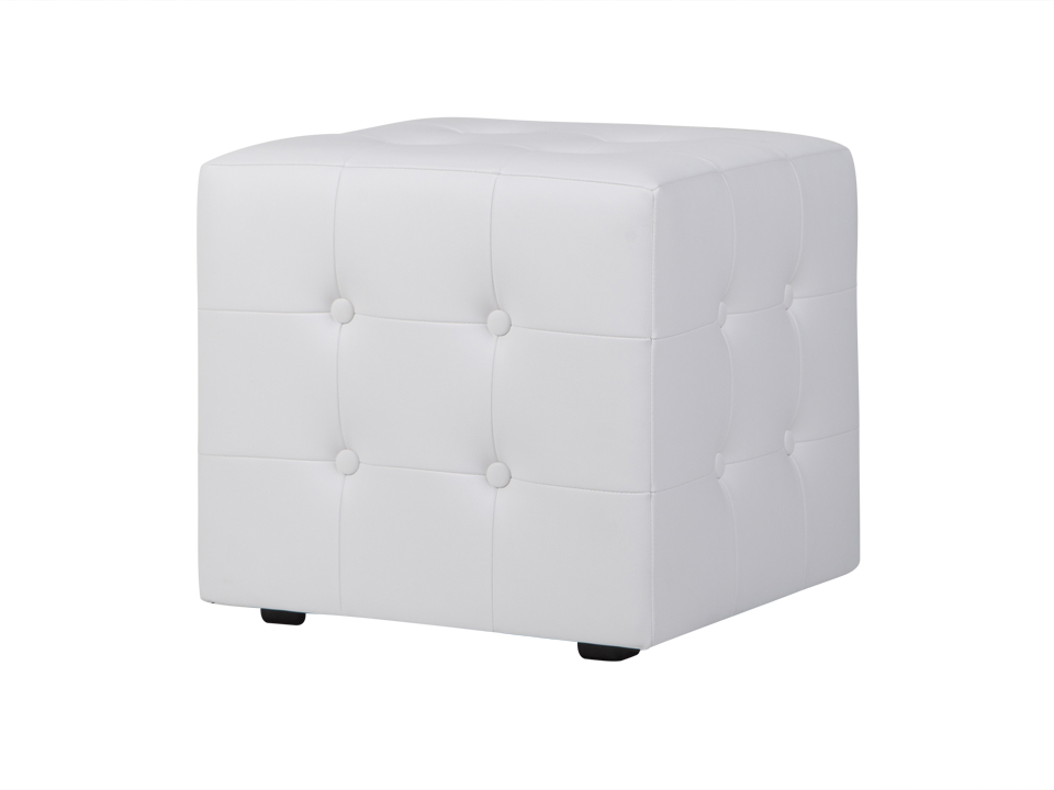 Пуф Rubik PlusКожаные пуфы<br><br><br>Material: Экокожа<br>Ширина см: 43<br>Высота см: 42<br>Глубина см: 43