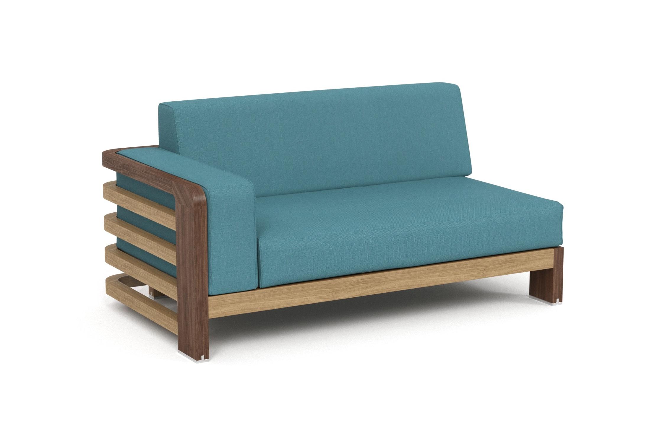 Кушетка левая LagoonДиваны и оттоманки для сада<br>Коллекция LAGOON – коллекция, предназначенная для обустройства тихого уединенного места, в котором можно полностью расслабиться и забыть о суете. <br>Дизайн продуман так, чтобы можно было выбрать множество вариаций для отдыха: загорать на шезлонге или расположиться на удобном диване, подремать в <br>кресле или понежиться на кушетке.&amp;nbsp;Высота посадки: 383 мм.&amp;nbsp;Ироко – экзотическая золотисто-<br><br>коричневатая/оливково-коричневая древесина с золотистым оттенком.&amp;nbsp; Мебель из ироко допускает круглогодичную эксплуатацию на открытом воздухе, <br><br>выдерживает перепады температур от –30 до +30С. Срок службы более 20 лет.Sunbrella® – акриловая ткань с водоотталкивающими <br><br>свойствами от мирового лидера в производстве тканей для <br>яхт. Ткани Sunbrella изготавливаются из окрашиваемого в растворе акрилового волокна. Обработка, препятствующая образованию пятен, защищает ткани <br>Sunbrella, которые допускают машинную стирку и обеспечивают защиту от УФ-лучей<br><br>kit: None<br>gender: None