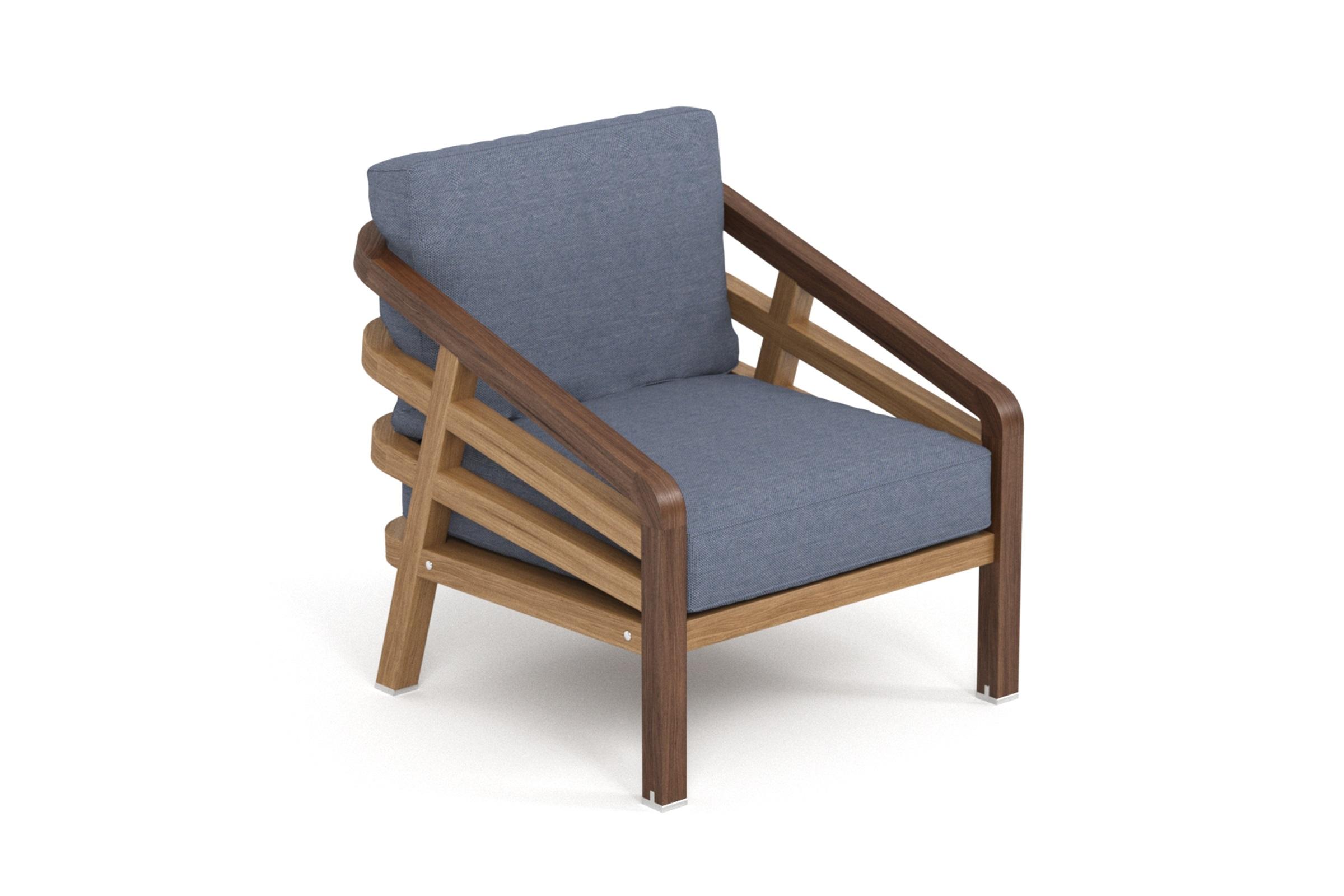 Кресло LagoonКресла для сада<br>Коллекция LAGOON – коллекция, предназначенная для обустройства тихого уединенного места, в котором можно полностью расслабиться и забыть о суете. Дизайн продуман так, чтобы можно было выбрать множество вариаций для отдыха: загорать на шезлонге или расположиться на удобном диване, подремать в кресле или понежиться на кушетке. Высота посадки:420мм. Тик – прочная и твердая древесина, относится к ценным породам. Мебель из тика допускает круглогодичную эксплуатацию на открытом воздухе, выдерживает перепады температур от –30 до +30С. Срок службы более 25 лет. Sunbrella® – акриловая ткань с водоотталкивающими свойствами от мирового лидера в производстве тканей для яхт. Ткани Sunbrella изготавливаются из окрашиваемого в растворе акрилового волокна. Обработка, препятствующая образованию пятен, защищает ткани Sunbrella, которые допускают машинную стирку и обеспечивают защиту от УФ-лучей<br><br>kit: None<br>gender: None