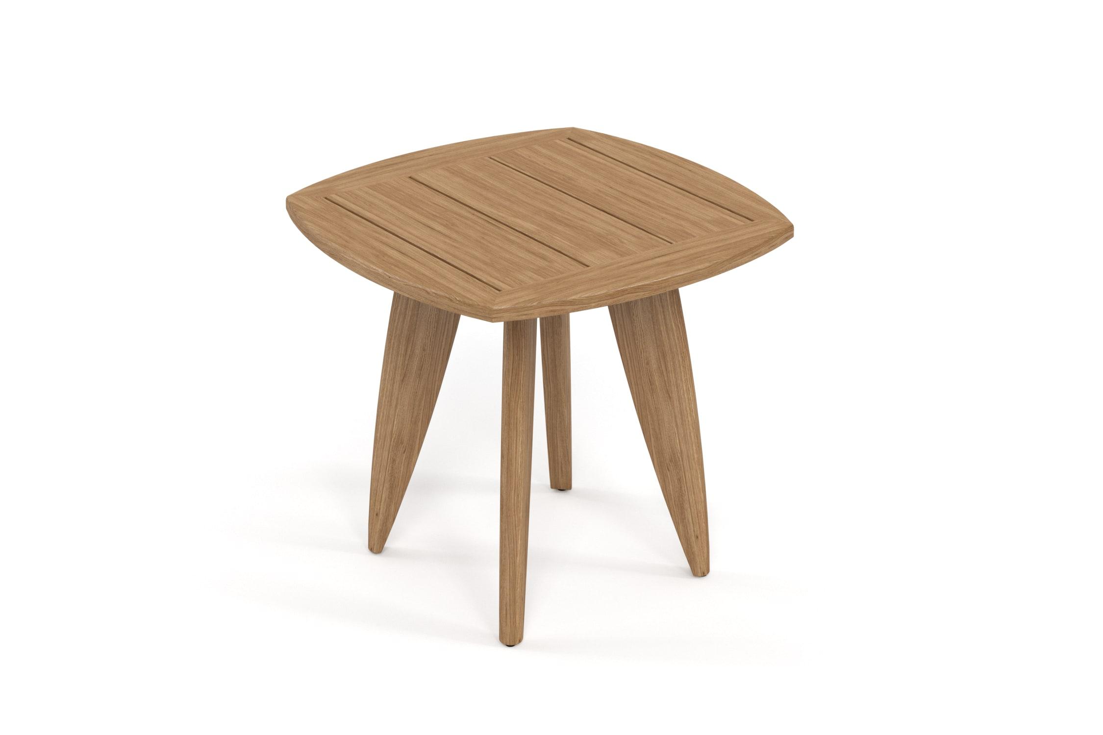 Столик придиванный ReefСтолы и столики для сада<br>Коллекция REEF - уникальный дизайн, сочетающий в себе надежность, теплоту дерева и продуманность форм. Мягкие удобные подушки, выполненные в контрастной цветовой гамме, сразу привлекают внимание к уютному уголку отдыха. Коллекция универсальна: предназначена для уединения отдыха в тенистой зелени сада, неспешных обедов во внутреннем дворике или досуга у воды.&amp;nbsp;Тик – прочная и твердая древесина, относится к ценным породам. Имеет темно-золотистый цвет и сохраняет его на протяжении очень длительного срока. Со временем приобретает благородный темно-серый или темно-коричневый цвет. Благодаря высокому содержанию природных масел, обладает высокой стойкостью против гниения, кислот и щелочей, не вызывает коррозию металлов. Тик содержит кислоты кремния и танина, придающие материалу стойкость к воздействию вредных внешних факторов. Древесина тика не подвержена воздействию термитов, не требует дополнительной антибактериальной обработки. Мебель из тика допускает круглогодичную эксплуатацию на открытом воздухе, выдерживает перепады температур от –30 до +30С. Срок службы более 25 лет.&amp;nbsp;Вся фурнитура изготовлена из нержавеющей стали на собственном производстве.&amp;nbsp;<br><br><br><br>kit: None<br>gender: None