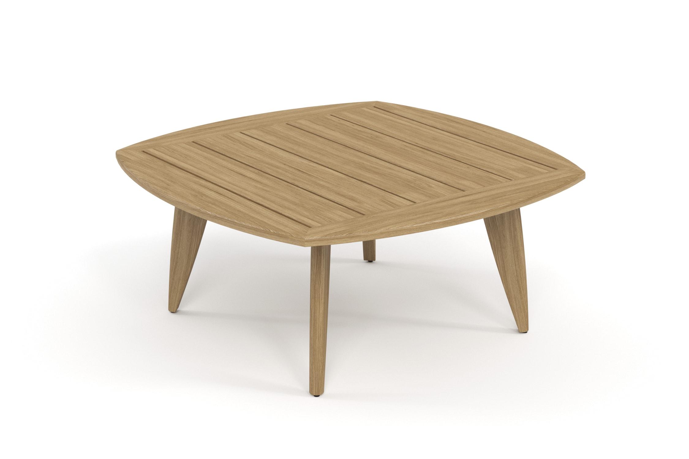 Стол журнальный ReefСтолы и столики для сада<br><br><br>Material: Ироко<br>Ширина см: 86.0<br>Высота см: 40.0<br>Глубина см: 86.0