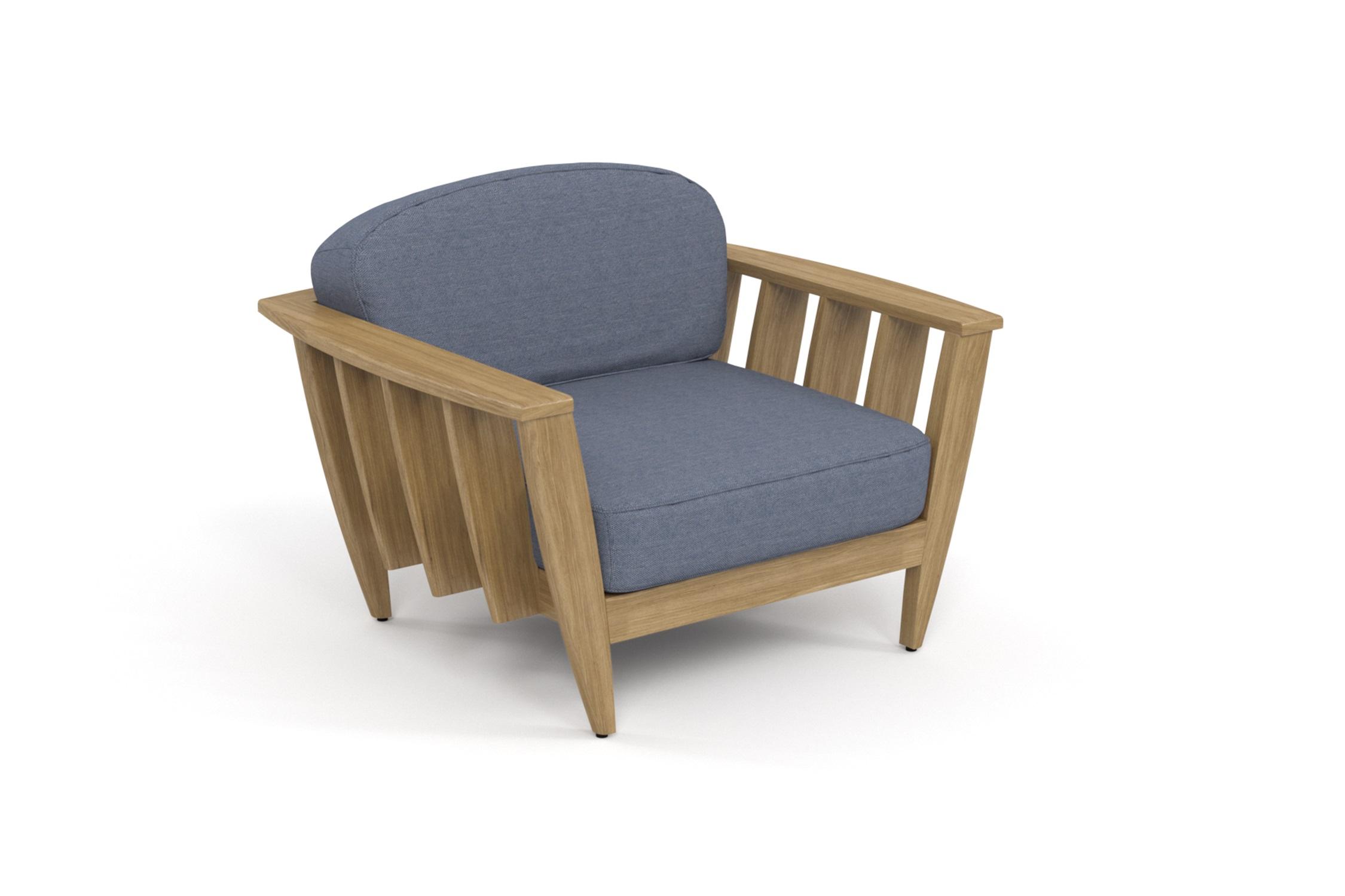 Кресло лаунж ReefКресла для сада<br>&amp;lt;div&amp;gt;Коллекция REEF - уникальный дизайн, сочетающий в себе надежность, теплоту дерева и продуманность форм. Мягкие удобные подушки, выполненные в контрастной цветовой гамме, сразу привлекают внимание к уютному уголку отдыха. Коллекция универсальна: предназначена для уединения отдыха в тенистой зелени сада, неспешных обедов во внутреннем дворике или досуга у воды.&amp;amp;nbsp;&amp;lt;/div&amp;gt;&amp;lt;div&amp;gt;Высота посадки:390мм.&amp;amp;nbsp;&amp;lt;/div&amp;gt;&amp;lt;div&amp;gt;&amp;lt;br&amp;gt;&amp;lt;/div&amp;gt;&amp;lt;div&amp;gt;Ироко – экзотическая золотисто-коричневатая/оливково-коричневая древесина с золотистым оттенком. Цвет ироко практически не меняется со временем, немного темнеет и приобретает теплый маслянистый оттенок. По физическим свойствам не уступает тику. Древесина африканского тика не подвержена гниению и воздействию термитов, не требует дополнительной антибактериальной обработки. Мебель из ироко допускает круглогодичную эксплуатацию на открытом воздухе, выдерживает перепады температур от –30 до +30С. Срок службы более 20 лет.&amp;amp;nbsp;&amp;lt;/div&amp;gt;&amp;lt;div&amp;gt;&amp;lt;br&amp;gt;&amp;lt;/div&amp;gt;&amp;lt;div&amp;gt;Sunbrella® – акриловая ткань с водоотталкивающими свойствами от мирового лидера в производстве тканей для яхт.&amp;amp;nbsp;&amp;lt;/div&amp;gt;&amp;lt;div&amp;gt;Вся фурнитура изготовлена из нержавеющей стали на собственном производстве.&amp;amp;nbsp;&amp;lt;/div&amp;gt;&amp;lt;div&amp;gt;&amp;lt;br&amp;gt;&amp;lt;/div&amp;gt;<br><br>&amp;lt;iframe width=&amp;quot;530&amp;quot; height=&amp;quot;300&amp;quot; src=&amp;quot;https://www.youtube.com/embed/uL9Kujh07kc&amp;quot; frameborder=&amp;quot;0&amp;quot; allowfullscreen=&amp;quot;&amp;quot;&amp;gt;&amp;lt;/iframe&amp;gt;<br><br>Material: Ироко<br>Ширина см: 111.0<br>Высота см: 77.0<br>Глубина см: 95