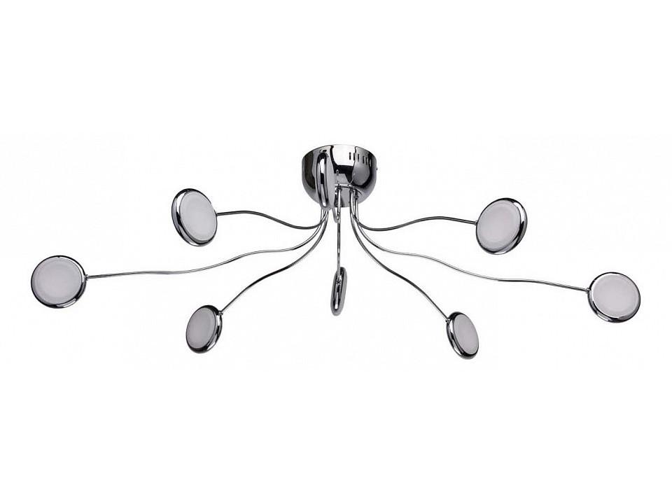 Накладной светильник ФленсбургПотолочные светильники<br>Вид цоколя: LEDМощность:&amp;nbsp; 3.5W&amp;nbsp;Количество ламп: 7 (в комплекте)<br><br>kit: None<br>gender: None