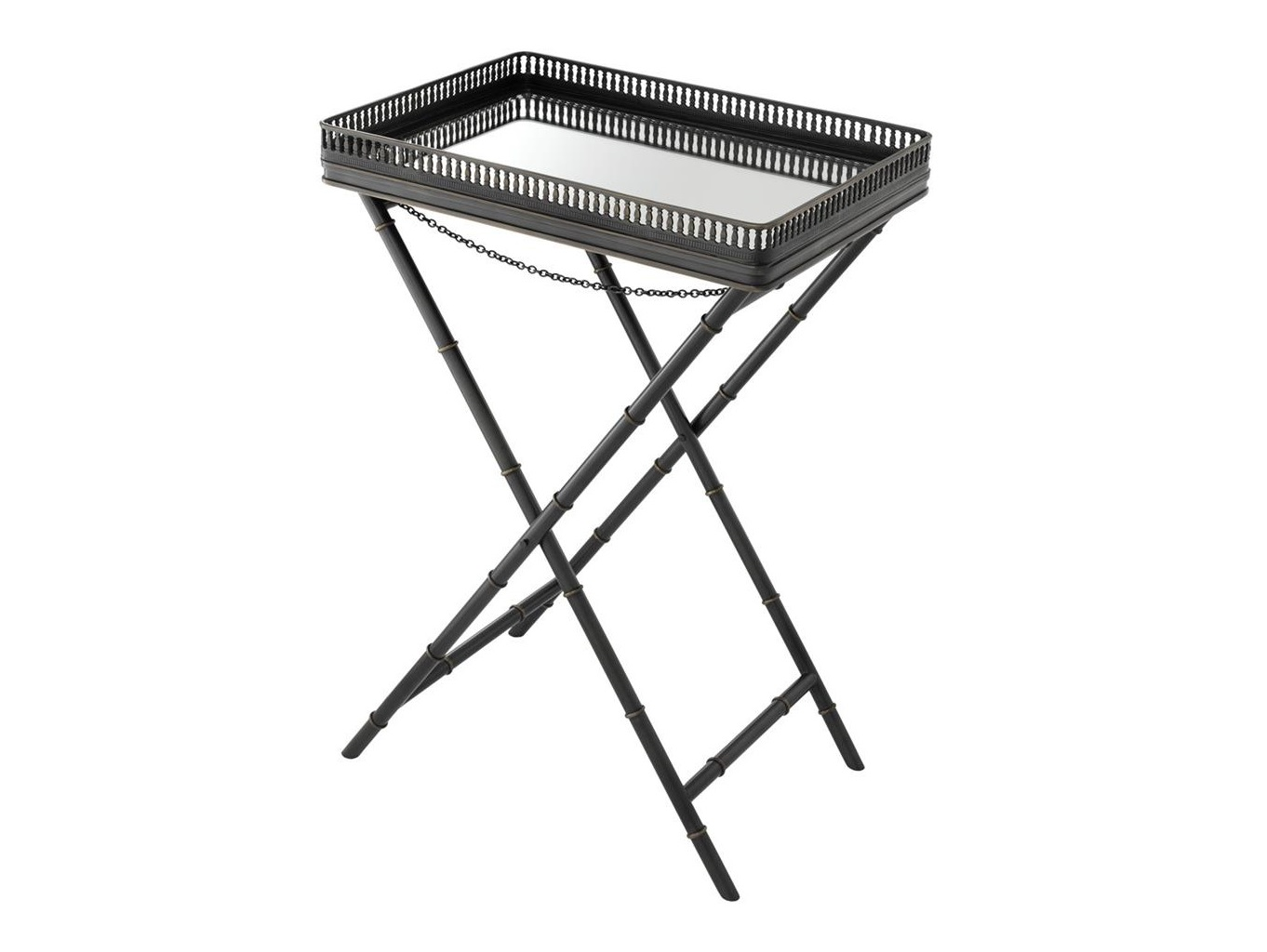 Стол IsolaСервировочные столики<br>Сервировочный столик Isola с подносом.&amp;amp;nbsp;&amp;lt;div&amp;gt;&amp;lt;br&amp;gt;&amp;lt;div&amp;gt;Выполнен из металла цвета пушечная бронза.&amp;amp;nbsp;&amp;lt;/div&amp;gt;&amp;lt;div&amp;gt;Ниша подноса из зеркального стекла.&amp;amp;nbsp;&amp;lt;div&amp;gt;Размеры подноса: 61 x 43 x H. 7 cm.&amp;lt;/div&amp;gt;&amp;lt;/div&amp;gt;&amp;lt;/div&amp;gt;<br><br>Material: Металл<br>Ширина см: 61.0<br>Высота см: 87<br>Глубина см: 43.0