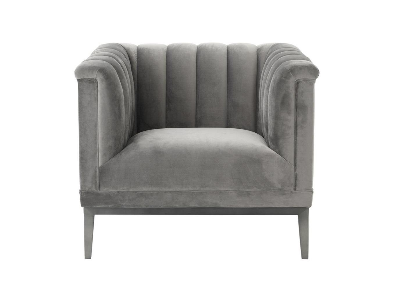 Кресло RafflesИнтерьерные кресла<br>Кресло Raffles обтянуто тканью серого цвета.&amp;amp;nbsp;&amp;lt;div&amp;gt;&amp;lt;br&amp;gt;&amp;lt;/div&amp;gt;&amp;lt;div&amp;gt;Ножки из металла цвета пушечная бронза.&amp;amp;nbsp;&amp;lt;/div&amp;gt;&amp;lt;div&amp;gt;Состав ткани: 100% полиэстер.&amp;lt;/div&amp;gt;<br><br>Material: Текстиль<br>Ширина см: 89.0<br>Высота см: 75.0<br>Глубина см: 86.0