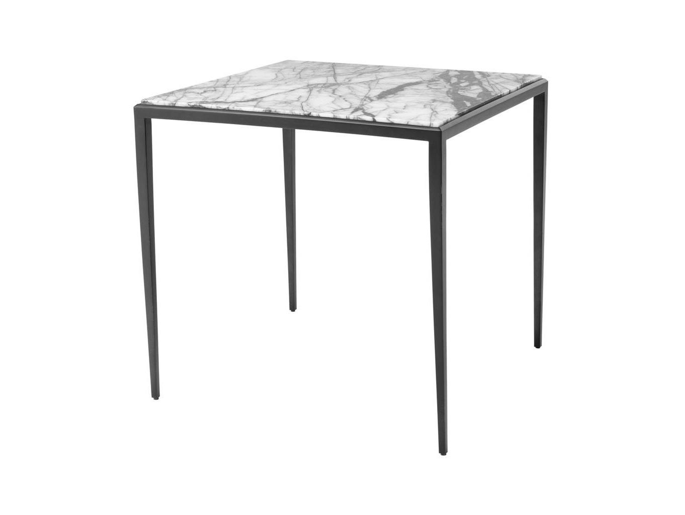 Стол HenleyКофейные столики<br>Столешница из белого мрамора.<br><br>Material: Мрамор<br>Ширина см: 60.0<br>Высота см: 58.0<br>Глубина см: 60.0