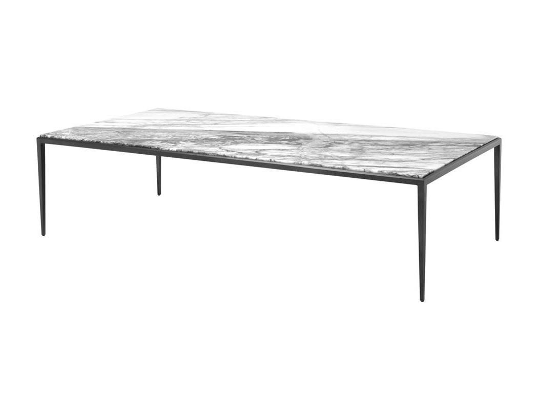 Журнальный столик HenleyЖурнальные столики<br>Столешница из белого мрамора.<br><br>Material: Мрамор<br>Ширина см: 160.0<br>Высота см: 40.0<br>Глубина см: 78.0