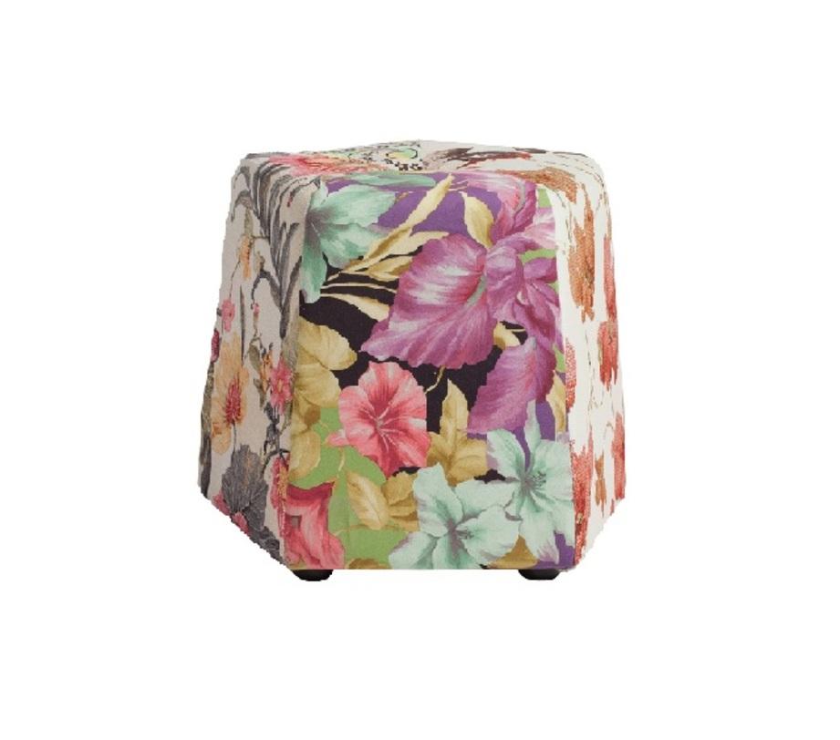 Пуф  Luchide FioreКожаные пуфы<br>Пуф Luchide Fiore может стать главным украшением вашего интерьера и поможет правильно расставить акценты.<br>Материал: деревянное основание, поролон, ткань<br><br>Material: Текстиль<br>Height см: 42<br>Diameter см: 45