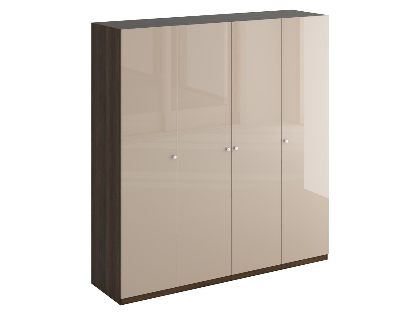 Шкаф UnoПлатяные шкафы<br>Шкаф четырехдверный состоит их трёх отделений. В отделениях расположены верхние стационарные и нижние съемные полки. Шкаф установлен на регулируемые опоры. Данную мебель рекомендуется крепить к стене. Ручки и внутренние элементы продаются отдельно.<br><br>Material: ДСП