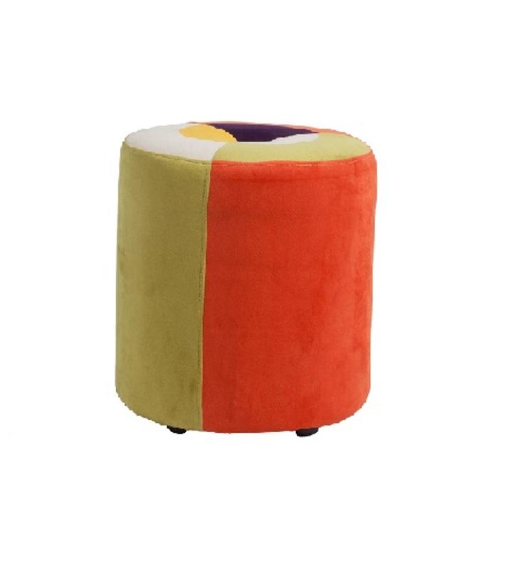 Пуф  ParranderoФорменные пуфы<br>Пуфы Parrandero цилиндрической формы помогут визуально сгладить остроту углов в интерьере и привнесут в него яркие краски.<br><br>Материал: Деревянное основание, поролон, ткань<br>Цвета:<br>- Желтый, салатовый, красный, фиолетовый, белый<br>- Голубой, фиолетовый, белый<br><br>Material: Текстиль<br>Высота см: 40