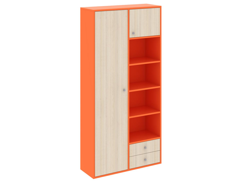 Шкаф PinokkioБельевые шкафы<br>Шкаф комбинированный имеет два отделения. В первом отделении расположены полки. Во втором - выдвижная штанга для одежды. Данный шкаф выполнен в правостороннем исполнении.Материалы:ЛДСП, толщина 22 мм<br><br>kit: None<br>gender: None
