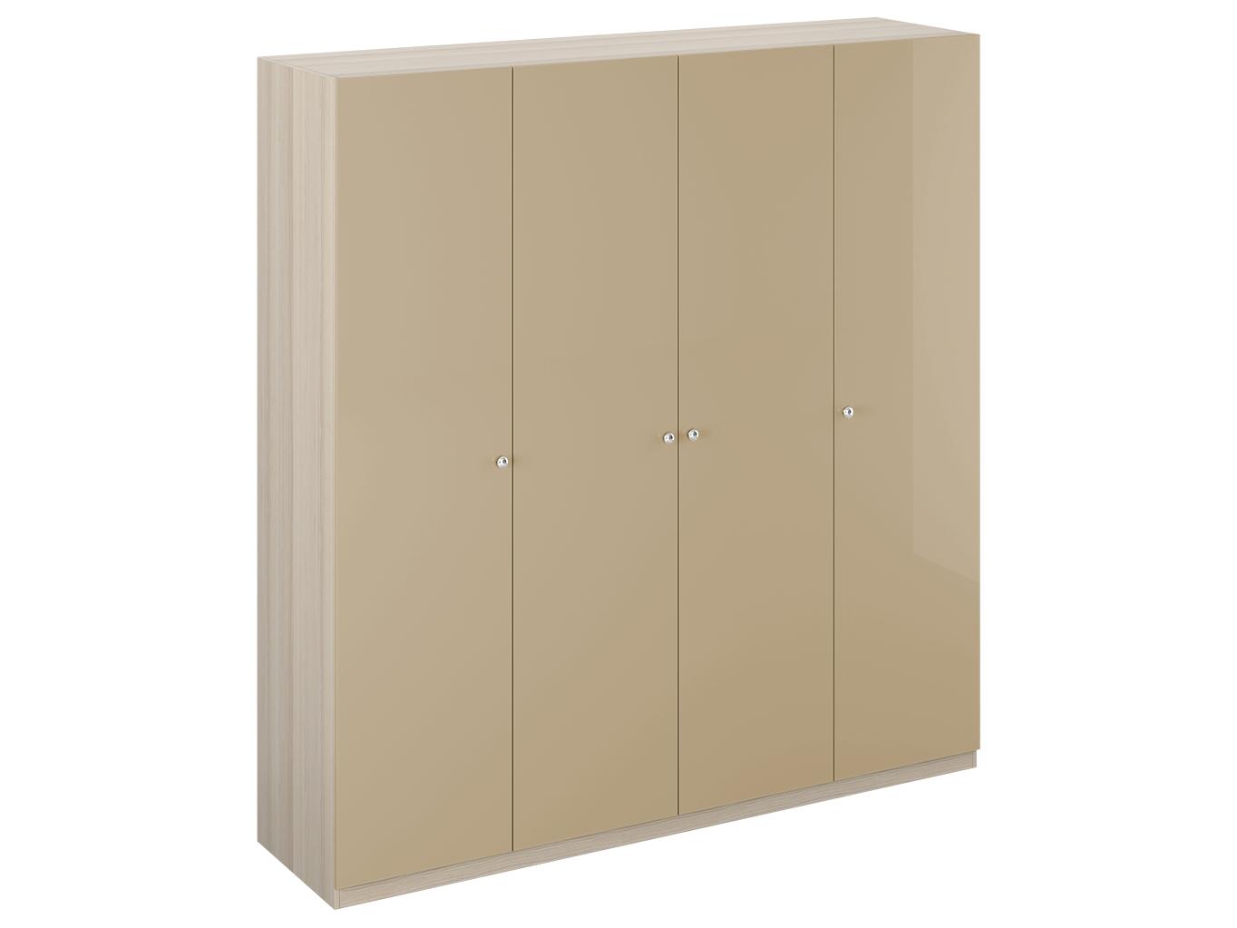 Шкаф UnoПлатяные шкафы<br>&amp;lt;div&amp;gt;Шкаф четырехдверный состоит их трёх отделений. В центральном отделении расположены две полки&amp;amp;nbsp; и штанга для одежды. В правом отделении - 5 полок. В левом - 3 полки и штанга для одежды. На одной дверце шкафа с внутренней стороны расположено зеркало. Шкаф установлен на регулируемые опоры. Данную мебель рекомендуется крепить к стене. Ручки продаются отдельно, не входят в стоимость изделия.&amp;lt;/div&amp;gt;&amp;lt;div&amp;gt;&amp;lt;br&amp;gt;&amp;lt;/div&amp;gt;&amp;lt;div&amp;gt;Материалы:&amp;lt;/div&amp;gt;&amp;lt;div&amp;gt;Корпус: ЛДСП 16 мм цвет Ясень Коимбра&amp;lt;/div&amp;gt;&amp;lt;div&amp;gt;Фасад: ЛДСП 16 мм&amp;lt;/div&amp;gt;<br><br>Material: ДСП<br>Ширина см: 219<br>Высота см: 232<br>Глубина см: 59