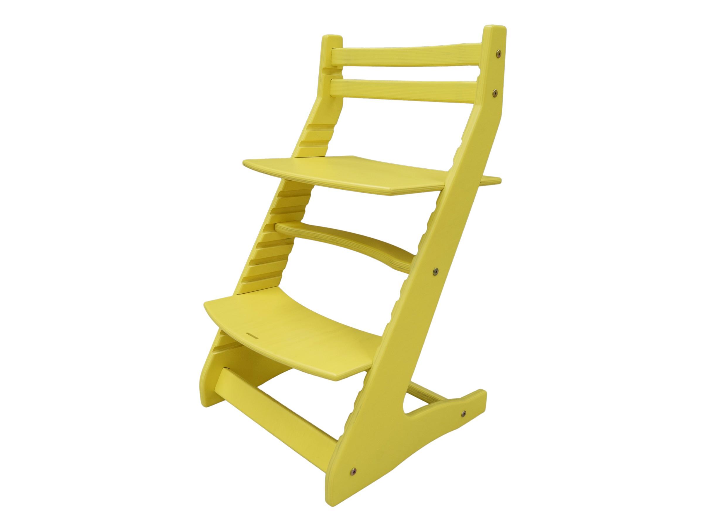 Стул детский ВырастайкаДетские стулья<br>Растущие стулья «Вырастайка» нравятся и детям, и взрослым: их лаконичный дизайн и яркая цветовая палитра отлично смотрятся в детской комнате, а высокое качество исполнения и продуманная конструкция помогают заботиться о здоровье малыша. <br>Если вы хотите сформировать у своего ребенка правильную осанку, стоит подобрать ему мебель, соответствующую его росту и фигуре. Даже если ваше чадо растет очень быстро, стульчик «Вырастайка» будет расти одновременно с ним: меняя высоту и глубину сидения, вы легко отрегулируете его положение так, чтобы малыш мог принять правильную позу, не чувствуя при этом дискомфорта. Стулья «Вырастайка» производятся из экологически чистых материалов: легкая и прочная березовая фанера выдерживает массу до 100 кг. Стульчик сложно раскачать или опрокинуть, поэтому вы сможете быть спокойны за безопасность вашего малыша.<br><br>kit: None<br>gender: None