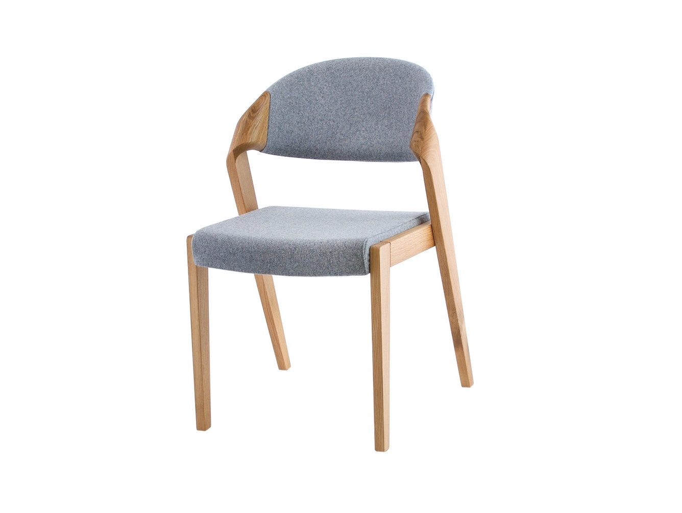 Стул BendОбеденные стулья<br>Оригинальный вариант плавного изогнутого перехода от задних ног в спинку стула придает ему неповторимость и комфорт посадки . Максимально открытые элементы стула позволяют в полной мере насладиться структурой многовекового дуба.&amp;nbsp;Материал:каркас - дуб, сидушка - пенополиуретан, обивка - шерсть овечья, окраска - лак акриловый<br><br>kit: None<br>gender: None