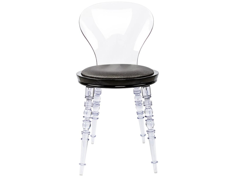 Стул Премьер Swaro прозрачныйОбеденные стулья<br>Помимо блестящей сценической внешности, стул&amp;nbsp; обладет бытовой неприхотливостью и долговечностью.Ножки и спинка изготовлены из поликарбоната, выносливого и долговечного материала. Каркас сиденья изготовлен из полипропилена, легкого, но жесткого полимера.<br><br>kit: None<br>gender: None