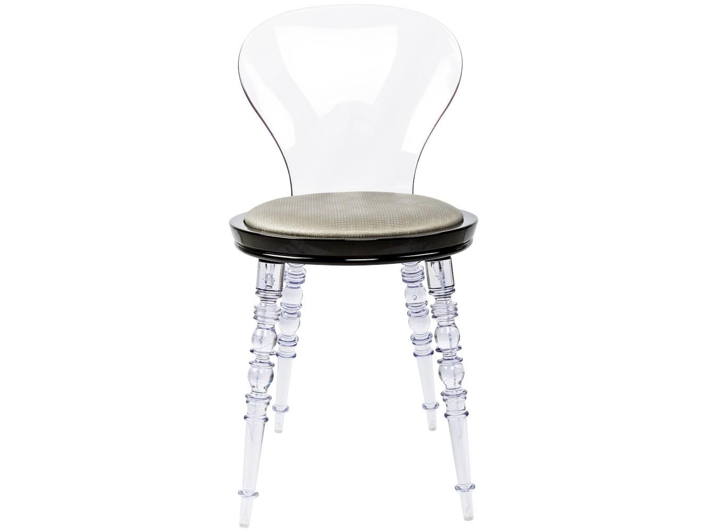 Стул Премьер Diamond прозрачныйОбеденные стулья<br>В обивке стула&amp;amp;nbsp; использована серебряная экокожа с эффектом мерцающего бриллианта. Изящная прозрачная мебель заботится о визуальном просторе и свежести Вашего интерьера.&amp;amp;nbsp;&amp;lt;div&amp;gt;Ножки и спинка изготовлены из поликарбоната, выносливого и долговечного материала. Каркас сиденья изготовлен из полипропилена, легкого, но жесткого полимера.&amp;lt;br&amp;gt;&amp;lt;/div&amp;gt;<br><br>Material: Пластик<br>Ширина см: 40.0<br>Высота см: 81.0<br>Глубина см: 40.0