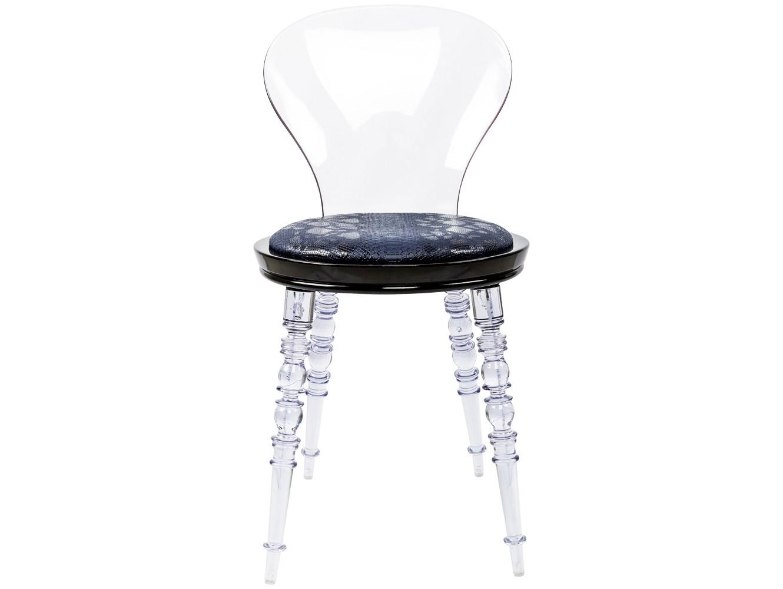 Стул Премьер Comodo прозрачныйОбеденные стулья<br>Помимо блестящей сценической внешности, стулья «Премьер» обладают неприхотливостью и долговечностью, обеспеченными современными материалами.&amp;lt;div&amp;gt;Ножки и спинка изготовлены из поликарбоната, выносливого и долговечного материала. Каркас сиденья изготовлен из полипропилена, легкого, но жесткого полимера.&amp;lt;br&amp;gt;&amp;lt;/div&amp;gt;<br><br>Material: Пластик<br>Ширина см: 40.0<br>Высота см: 81.0<br>Глубина см: 40.0