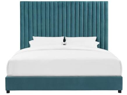 Мягкая кровать erwin (myfurnish) зеленый 176x130x212 см.
