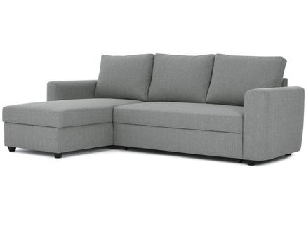 Угловой диван-кровать marble (myfurnish) серый 243x83x152 см.