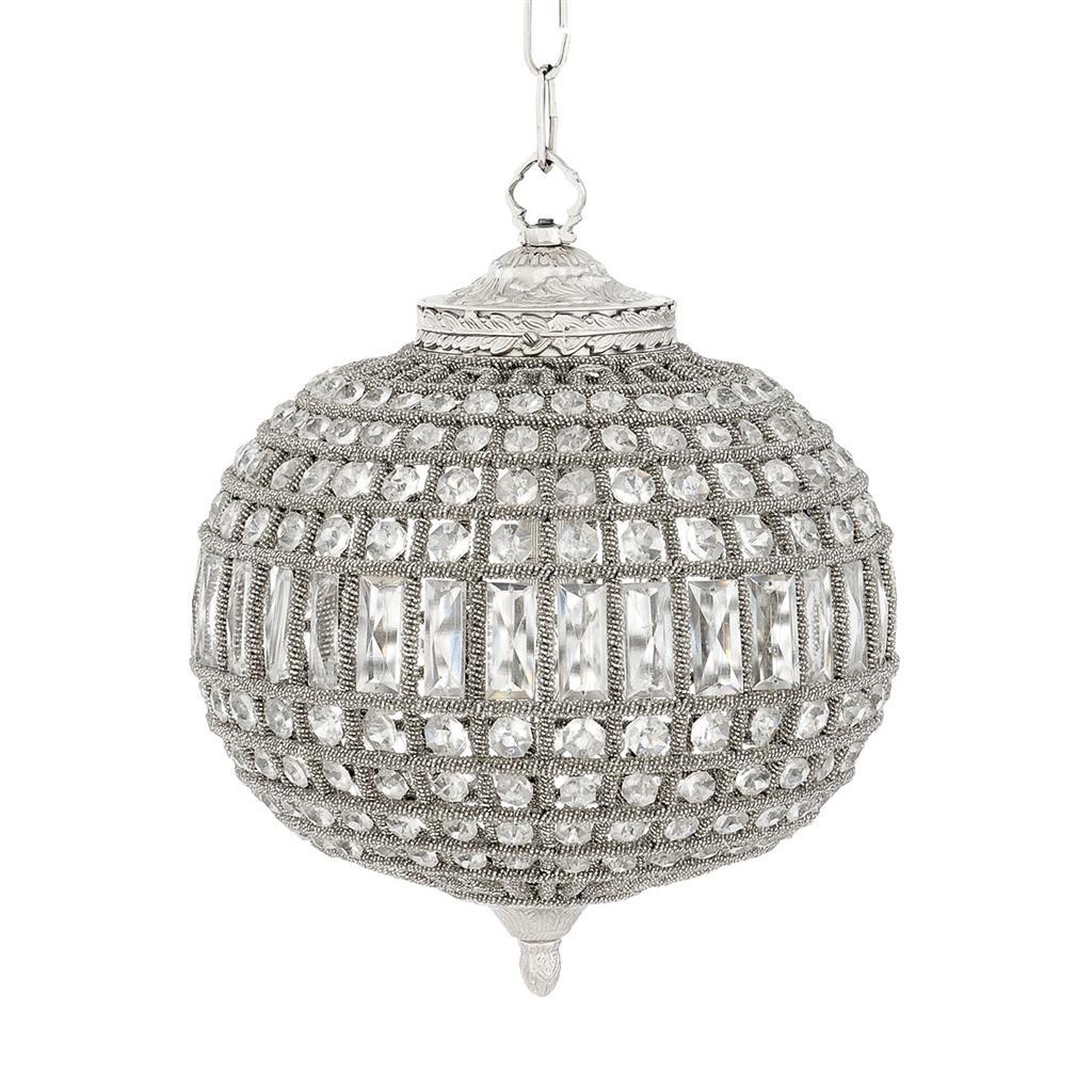 Люстра Kasbah Oval SmallЛюстры подвесные<br>Люстра-драгоценность, люстра-кристалл. В ней сочетаются дань уважения традициям барочной роскоши и современный блеск и великолепие. Вид цоколя: E14Мощность:  40W Количество ламп: 1 (нет в комплекте)<br><br>kit: None<br>gender: None