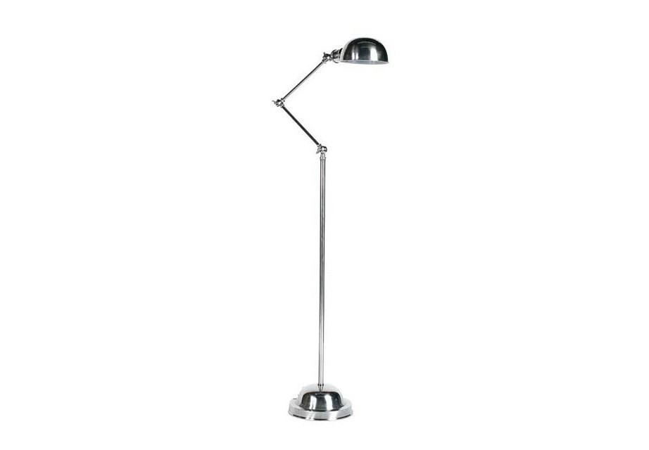 Торшер SohoТоршеры<br>Напольный светильник из металла, цвет - никель.Вид цоколя: Е27Мощность лампы: 60WКоличество ламп: 1Наличие ламп: нет<br><br>kit: None<br>gender: None