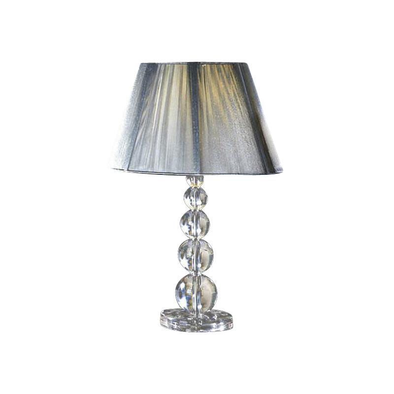 Настольная лампа MercuryДекоративные лампы<br>Настольная лампа &amp;quot;MERCURY&amp;quot; выполнена в виде плетенного из шелковой серебристой тесьмы абажура и основания состоящего из пирамиды шаров, изготовленных из прозрачного метакрилата. Абажур имеет подкладочную ткань.&amp;amp;nbsp;&amp;lt;div&amp;gt;Мощность: 1 x 100 Вт&amp;lt;/div&amp;gt;&amp;lt;div&amp;gt;Цоколь: Е27&amp;lt;/div&amp;gt;<br><br>Material: Пластик<br>Ширина см: 36.0<br>Высота см: 55.0<br>Глубина см: 36.0