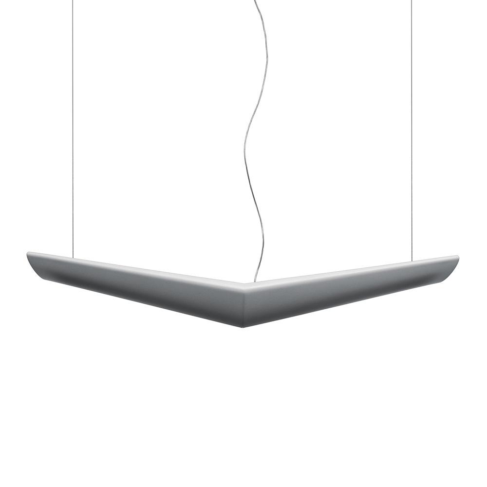 Светильник Mouette SimmetricalПодвесные светильники<br>Подвесной светильник &amp;quot;Mouette Simmetrical&amp;quot; с люминесцентными лампами Т16 - 24W. Симметричная версия без димера. Опаловый рассеиватель из цельной полипропиленовой формы.КПД: 55%. Распределение света: 74% прямого и 26% непрямого излучения. В верхней части отверстие для удобной инсталляции и обслуживания ламп. Поставляется с 2 метровыми тросами для регулировки высоты. Источники света идут в комплекте. Соответствует стандартам.&amp;amp;nbsp;&amp;lt;div&amp;gt;&amp;lt;br&amp;gt;&amp;lt;/div&amp;gt;&amp;lt;div&amp;gt;Тип цоколя: G5&amp;lt;/div&amp;gt;&amp;lt;div&amp;gt;Мощность: 24W&amp;lt;/div&amp;gt;&amp;lt;div&amp;gt;Количество: 4 (в комплекте)&amp;amp;nbsp;&amp;lt;/div&amp;gt;&amp;lt;div&amp;gt;&amp;lt;br&amp;gt;&amp;lt;/div&amp;gt;<br><br>Material: Пластик<br>Ширина см: 135<br>Высота см: 190<br>Глубина см: 40