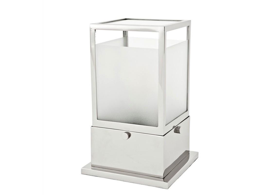 Декоративная лампа StantonДекоративные лампы<br>Настольная лампа Table Lamp Stanton на основании из никелированного металла. Плафон выполнен из матового белого стекла. Лампочки в комплект не входят.&amp;lt;div&amp;gt;&amp;lt;br&amp;gt;&amp;lt;/div&amp;gt;&amp;lt;div&amp;gt;&amp;lt;div&amp;gt;Вид цоколя: Е27&amp;lt;/div&amp;gt;&amp;lt;div&amp;gt;Мощность ламп: 40W&amp;lt;/div&amp;gt;&amp;lt;div&amp;gt;Количество ламп: 1&amp;lt;/div&amp;gt;&amp;lt;/div&amp;gt;<br><br>Material: Стекло<br>Ширина см: 16.0<br>Высота см: 25.0<br>Глубина см: 16.0