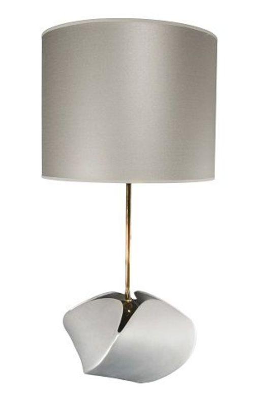 Лампа Silver&amp;BlackДекоративные лампы<br>Лампа Silver&amp;amp;amp;Black из Португалии - запоминающийся предмет декора интерьера. Этот светильник привлекает к себе внмание благодаря нежному перламутровому цвету абажура, тонкому металлическому основанию и, конечно, оригинальному керамическому основанию.&amp;lt;div&amp;gt;&amp;lt;br&amp;gt;&amp;lt;/div&amp;gt;&amp;lt;div&amp;gt;&amp;lt;div&amp;gt;Вид цоколя: E27&amp;lt;/div&amp;gt;&amp;lt;div&amp;gt;Мощность: 60W&amp;lt;/div&amp;gt;&amp;lt;div&amp;gt;Количество ламп: 1&amp;lt;/div&amp;gt;&amp;lt;/div&amp;gt;<br><br>Material: Керамика<br>Height см: 60<br>Diameter см: 40
