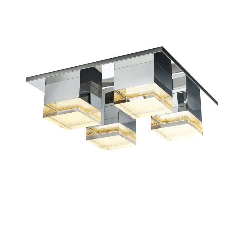 Потолочный светильник GalaxyПотолочные светильники<br>Потолочный светильник с 4-мя плафонами на хромированной арматуре. Плафоны состоят из блоков металла и прозрачного хрусталя.&amp;lt;div&amp;gt;&amp;lt;br&amp;gt;&amp;lt;/div&amp;gt;&amp;lt;div&amp;gt;&amp;lt;div&amp;gt;Вид цоколя: LED&amp;lt;/div&amp;gt;&amp;lt;div&amp;gt;Мощность лампы: 4,2W&amp;lt;/div&amp;gt;&amp;lt;div&amp;gt;Количество ламп: 4&amp;lt;/div&amp;gt;&amp;lt;div&amp;gt;Наличие ламп: да&amp;lt;/div&amp;gt;&amp;lt;/div&amp;gt;<br><br>Material: Металл<br>Ширина см: 31<br>Высота см: 12.0<br>Глубина см: 47
