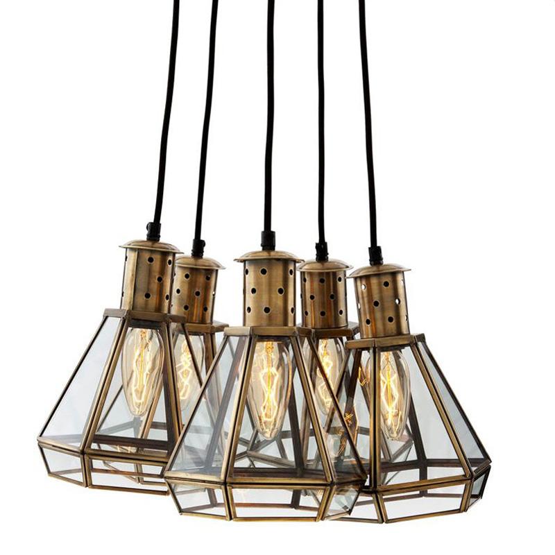 Подвесной светильник PolygonПодвесные светильники<br>&amp;lt;div&amp;gt;Подвесной светильник Polygon с 5-ю плафонами на арматуре из античной латуни. Плафоны выполнены из стекла в металлической рамке.&amp;amp;nbsp;&amp;lt;span style=&amp;quot;line-height: 1.78571;&amp;quot;&amp;gt;Длина тросов 237 см.&amp;lt;/span&amp;gt;&amp;lt;/div&amp;gt;&amp;lt;div&amp;gt;&amp;lt;br&amp;gt;&amp;lt;/div&amp;gt;&amp;lt;div&amp;gt;Количество лампочек: 5&amp;lt;/div&amp;gt;&amp;lt;div&amp;gt;Мощность: 5 x 40 Вт&amp;lt;/div&amp;gt;&amp;lt;div&amp;gt;Тип лампы: Накаливания, E27&amp;lt;/div&amp;gt;<br><br>Material: Стекло<br>Ширина см: 18<br>Высота см: 24<br>Глубина см: 18