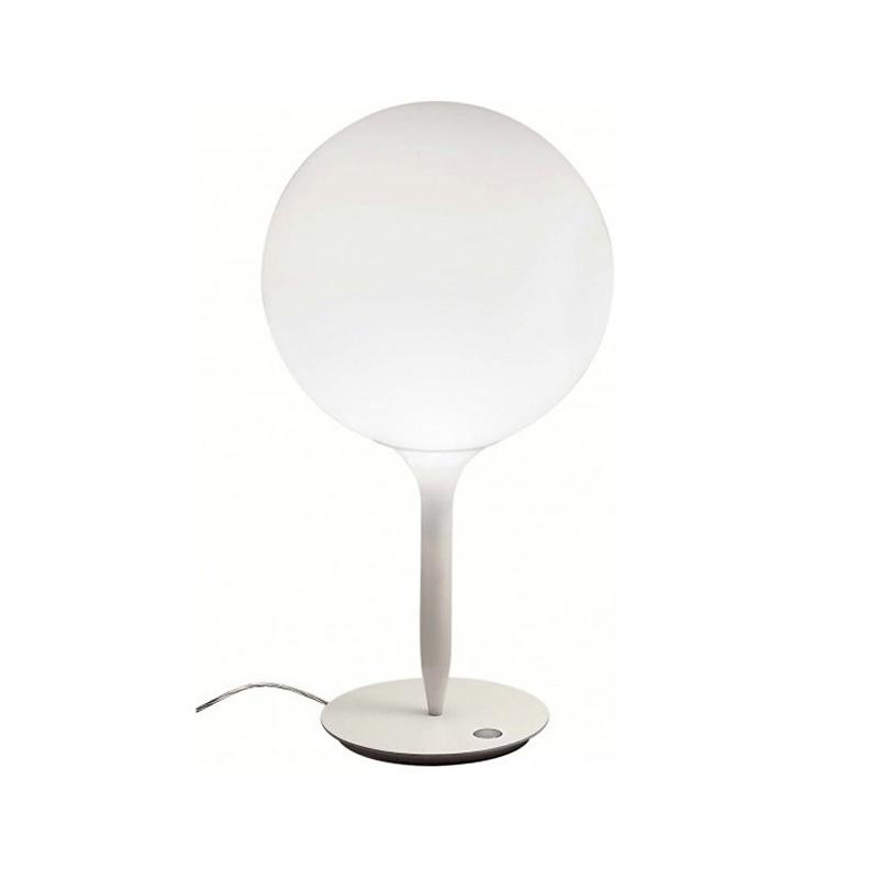 Настольная лампа CastoreДекоративные лампы<br>Сфера рассеивателя держится на светящихся стеблях, мягко перетекая от яркого рассеянного света к угасающему. Термопласт и выдувное стекло.&amp;amp;nbsp;&amp;lt;div&amp;gt;Мощность: 1 x 100 Вт&amp;lt;/div&amp;gt;&amp;lt;div&amp;gt;Цоколь: Е27&amp;lt;br&amp;gt;&amp;lt;/div&amp;gt;<br><br>Material: Стекло<br>Ширина см: 25.0<br>Высота см: 55.0<br>Глубина см: 25.0