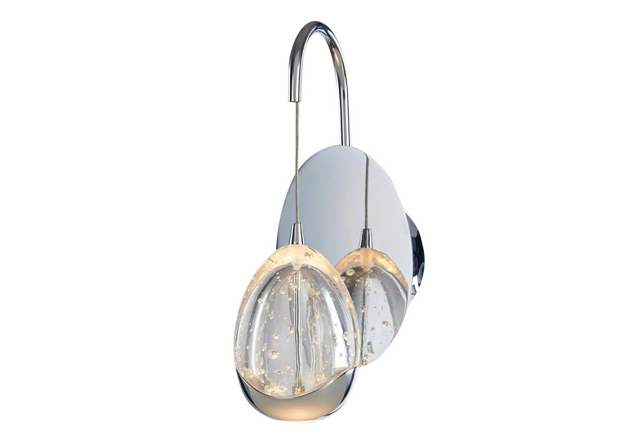 Настенный светильник TerreneБра<br>&amp;lt;div&amp;gt;Этот магический предмет – настоящее произведение искусства. Прозрачный, как капля росы, плафон выполнен из выдувного стекла с металлическими элементами. Создается иллюзия, будто светильник наполнен водой. Получается очень красивый эффект переливающихся частиц. Основание модели выполнено из хромированного металла с круглым зеркалом. Это добавляет в интерьер загадочности и экспрессии.&amp;amp;nbsp;&amp;lt;br&amp;gt;&amp;lt;/div&amp;gt;&amp;lt;div&amp;gt;&amp;lt;br&amp;gt;&amp;lt;/div&amp;gt;&amp;lt;div&amp;gt;Количество лампочек: 1&amp;lt;/div&amp;gt;&amp;lt;div&amp;gt;Мощность: 1&amp;amp;nbsp;x 4.8 Вт&amp;lt;/div&amp;gt;&amp;lt;div&amp;gt;Тип лампы: LED&amp;lt;/div&amp;gt;<br><br>Material: Металл<br>Ширина см: 11.0<br>Высота см: 26.0<br>Глубина см: 15.0