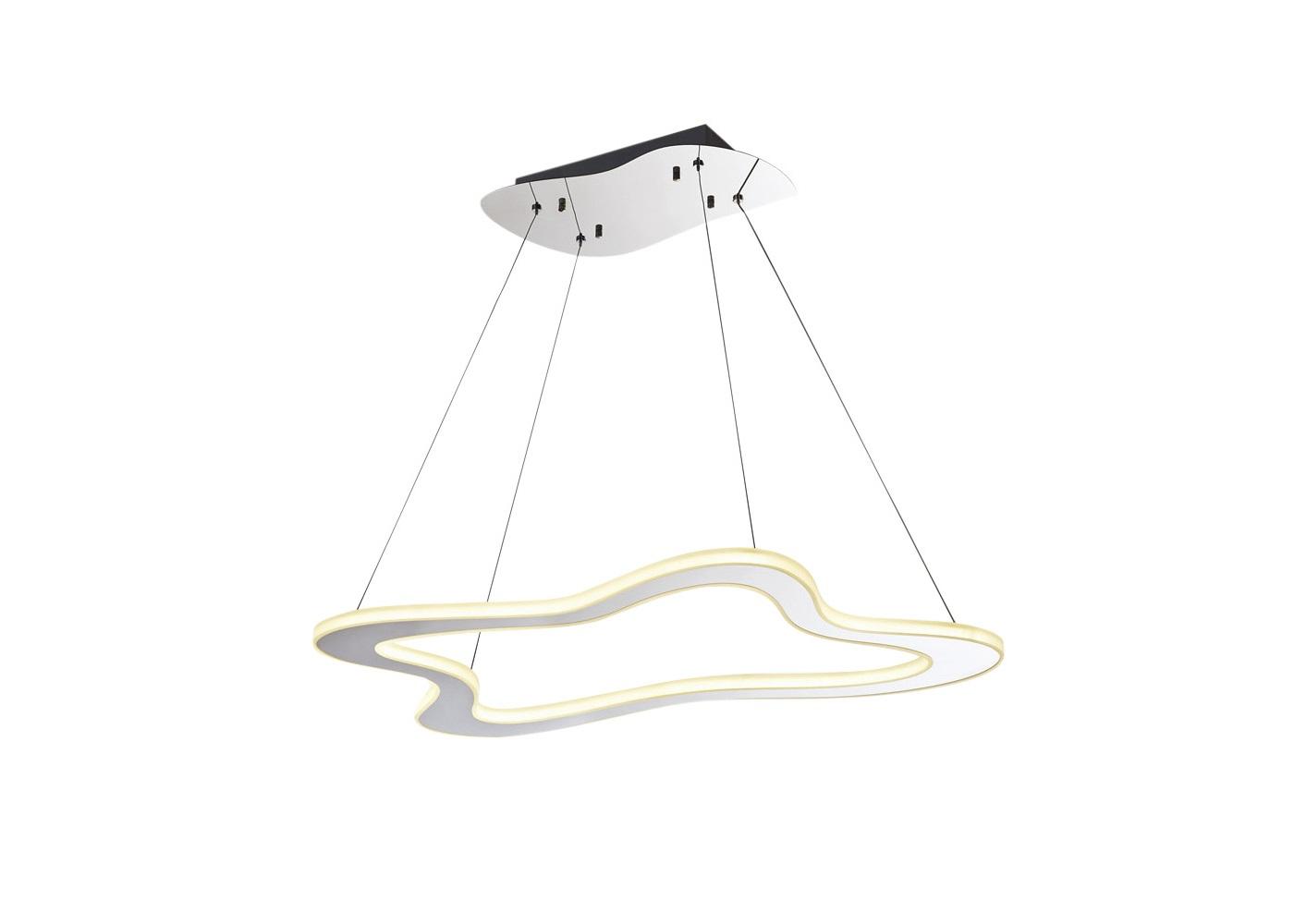 Подвесной светильникПодвесные светильники<br>Вид цоколя: LEDМощность: 28WКоличество ламп: 1Высота светильника регулируется.<br><br>kit: None<br>gender: None