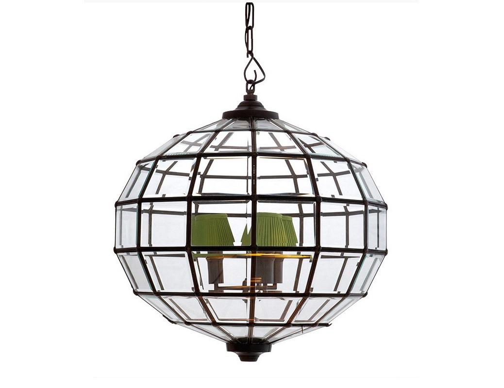 Подвесной светильник Lantern LunaЛюстры подвесные<br>Подвесной светильник Lantern Luna выполнен в виде многогранной сферы. Металлический каркас с отделкой под состаренную бронзу в котором закреплены прозрачные стекла с фацетами.&amp;lt;div&amp;gt;&amp;lt;br&amp;gt;&amp;lt;div&amp;gt;&amp;lt;div&amp;gt;Вид цоколя: E14&amp;lt;/div&amp;gt;&amp;lt;div&amp;gt;Мощность лампы: 40W&amp;lt;/div&amp;gt;&amp;lt;div&amp;gt;Количество ламп: 3&amp;lt;/div&amp;gt;&amp;lt;/div&amp;gt;&amp;lt;div&amp;gt;&amp;lt;br&amp;gt;&amp;lt;/div&amp;gt;&amp;lt;div&amp;gt;Абажуры не входят в комплект и заказываются отдельно.&amp;lt;/div&amp;gt;&amp;lt;/div&amp;gt;<br><br>Material: Металл<br>Ширина см: 60.0<br>Высота см: 60.0<br>Глубина см: 60.0