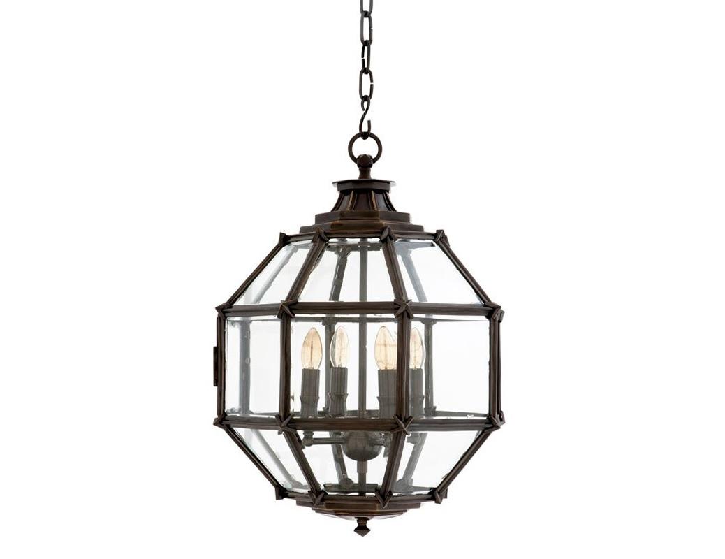 Подвесной светильник OwenПодвесные светильники<br>Подвесной светильник-латерна Owen с 4-мя рожками на арматуре из металла черно-бронзового цвета с патиной. Створки плафона выполнены из прозрачного стекла. Высота светильника регулируется за счет звеньев цепи.&amp;lt;div&amp;gt;&amp;lt;br&amp;gt;&amp;lt;/div&amp;gt;&amp;lt;div&amp;gt;&amp;lt;div&amp;gt;Вид цоколя: E14&amp;lt;/div&amp;gt;&amp;lt;div&amp;gt;Мощность лампы: 40W&amp;lt;/div&amp;gt;&amp;lt;div&amp;gt;Количество ламп: 4&amp;lt;/div&amp;gt;&amp;lt;/div&amp;gt;<br><br>Material: Металл<br>Ширина см: 43.0<br>Высота см: 60.0<br>Глубина см: 43.0