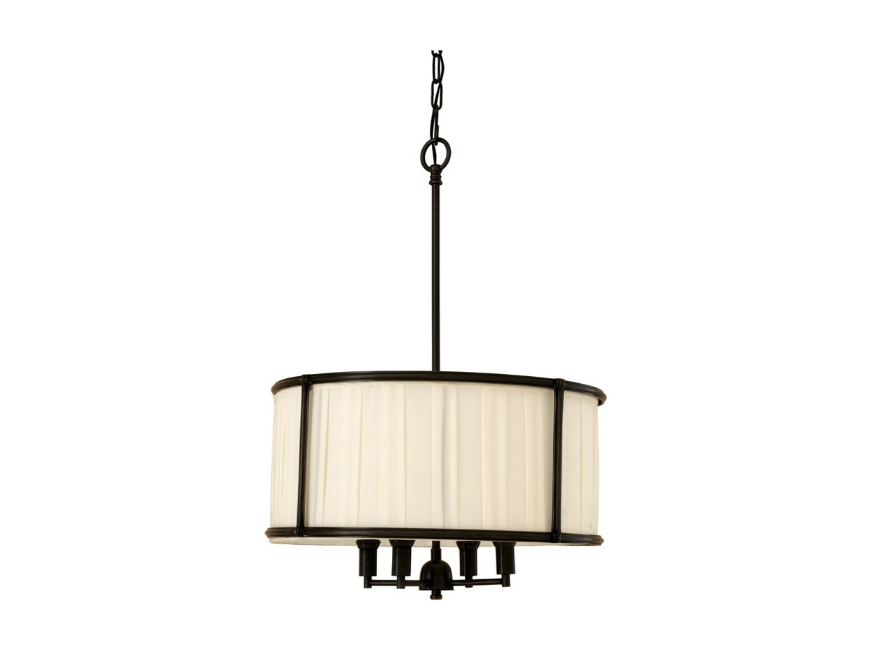 Подвесной светильник HammondПодвесные светильники<br>Подвесной светильник из коллекции Hammond на металлической арматуре коричневого цвета. Абажур из плиссированной ткани белого цвета. Высота светильника регулируется за счет звеньев цепи.&amp;lt;div&amp;gt;&amp;lt;br&amp;gt;&amp;lt;/div&amp;gt;&amp;lt;div&amp;gt;&amp;lt;br&amp;gt;&amp;lt;/div&amp;gt;&amp;lt;div&amp;gt;&amp;lt;div&amp;gt;Вид цоколя: E14&amp;lt;/div&amp;gt;&amp;lt;div&amp;gt;Мощность лампы: 40W&amp;lt;/div&amp;gt;&amp;lt;div&amp;gt;Количество ламп: 4&amp;lt;/div&amp;gt;&amp;lt;/div&amp;gt;<br><br>Material: Текстиль<br>Ширина см: 52.0<br>Высота см: 73<br>Глубина см: 52.0