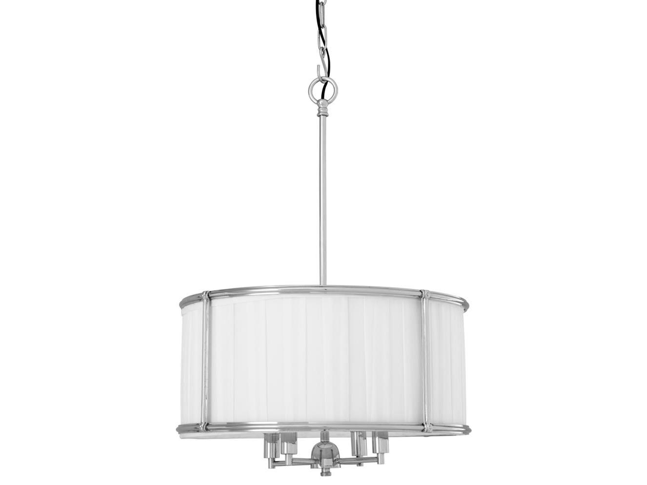 Подвесной светильник HammondПодвесные светильники<br>Подвесной светильник из коллекции Hammond на никелированной арматуре. Абажур из плиссированной ткани белого цвета. Высота светильника регулируется за счет звеньев цепи.&amp;lt;div&amp;gt;&amp;lt;br&amp;gt;&amp;lt;/div&amp;gt;&amp;lt;div&amp;gt;&amp;lt;div&amp;gt;Вид цоколя: E14&amp;lt;/div&amp;gt;&amp;lt;div&amp;gt;Мощность лампы: 40W&amp;lt;/div&amp;gt;&amp;lt;div&amp;gt;Количество ламп: 4&amp;lt;/div&amp;gt;&amp;lt;/div&amp;gt;<br><br>Material: Текстиль<br>Ширина см: 52.0<br>Высота см: 73<br>Глубина см: 52.0