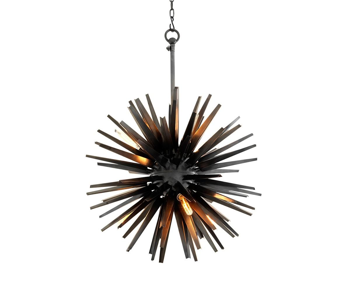 Подвесной светильник GregorianПодвесные светильники<br>Подвесной светильник Chandelier Gregorian L с оригинальным дизайном в виде &amp;quot;колючки&amp;quot; выполнен из металла бронзового цвета. Высота светильника регулируется за счет звеньев цепи.&amp;amp;nbsp;&amp;lt;div&amp;gt;&amp;lt;br&amp;gt;&amp;lt;/div&amp;gt;&amp;lt;div&amp;gt;&amp;lt;div&amp;gt;Цоколь: E27&amp;lt;/div&amp;gt;&amp;lt;div&amp;gt;Мощность: 40W&amp;lt;/div&amp;gt;&amp;lt;div&amp;gt;Количество ламп: 6&amp;lt;/div&amp;gt;&amp;lt;/div&amp;gt;<br><br>Material: Металл<br>Ширина см: 82.0<br>Высота см: 82.0<br>Глубина см: 82.0