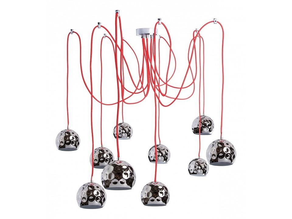 Подвесной светильник КотбусПодвесные светильники<br>&amp;lt;div&amp;gt;&amp;lt;div&amp;gt;Вид цоколя: E14&amp;lt;/div&amp;gt;&amp;lt;div&amp;gt;Мощность:&amp;amp;nbsp; 5W&amp;amp;nbsp;&amp;lt;/div&amp;gt;&amp;lt;div&amp;gt;Количество ламп: 10 (нет в комплекте)&amp;lt;/div&amp;gt;&amp;lt;/div&amp;gt;<br><br>Material: Металл