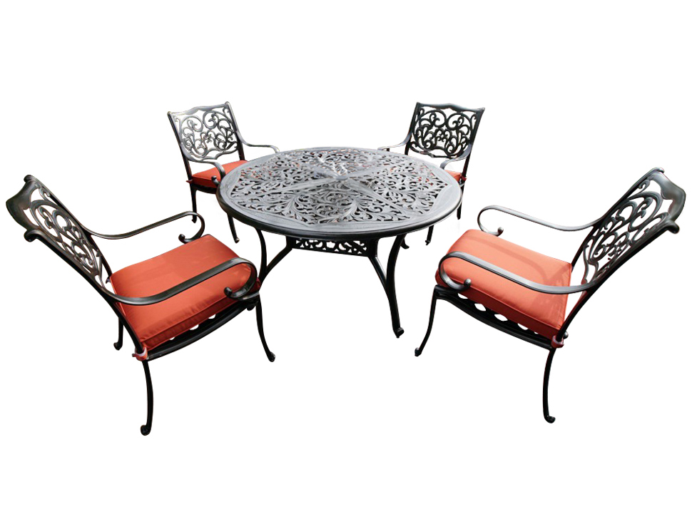 Комплект НаварраКомплекты уличной мебели<br>Комплект садовой мебели из литого алюминия &amp;quot;Наварра&amp;quot; отличается необыкновенно стильным дизайном и отличной проработкой всех элементов. Благодаря использованному материалу - алюминию - комплект мебели не только устойчив к коррозии, но и имеет легкий вес.&amp;amp;nbsp;&amp;lt;div&amp;gt;&amp;lt;br&amp;gt;&amp;lt;/div&amp;gt;&amp;lt;div&amp;gt;&amp;lt;div&amp;gt;Материал каркаса: литой алюминий&amp;lt;/div&amp;gt;&amp;lt;div&amp;gt;Материал ткани: spunpoly (подушка)&amp;lt;/div&amp;gt;&amp;lt;div&amp;gt;Цвет:: красный (подушка)&amp;lt;/div&amp;gt;&amp;lt;div&amp;gt;Стол: &amp;amp;nbsp;?138 * 71см&amp;lt;/div&amp;gt;&amp;lt;div&amp;gt;Стулья 60х70.5х95см&amp;lt;/div&amp;gt;&amp;lt;div&amp;gt;Комплектация: четыре кресла с подушками + один круглый обеденный стол&amp;quot;&amp;lt;/div&amp;gt;&amp;lt;div&amp;gt;&amp;lt;br&amp;gt;&amp;lt;/div&amp;gt;&amp;lt;div&amp;gt;&amp;lt;br&amp;gt;&amp;lt;/div&amp;gt;<br>&amp;lt;/div&amp;gt;<br><br>Material: Алюминий<br>Высота см: 71